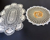 Vintage Doilies Set of 2