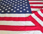 "50 Star American Flag Large Size, 58 x 114"" Sewn Stars Valley Forge Flag"
