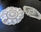 Square Doilies Set of Two