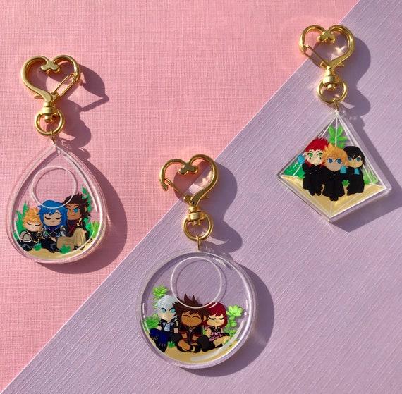 SALE Kingdom Hearts Terrarium Charms