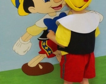 Pinocchio Costume, for Toddlers, Kids, Teens and Adults