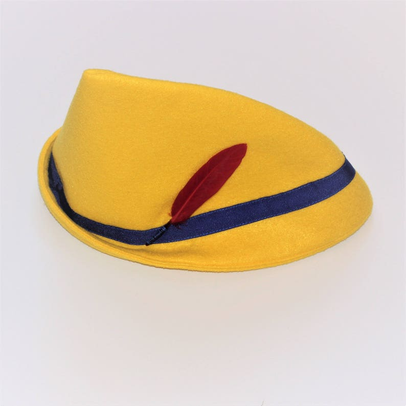 Costume Cappelli   Pinocchio Yellow Hat   Pinocchio Costume  3f01bb166c2e