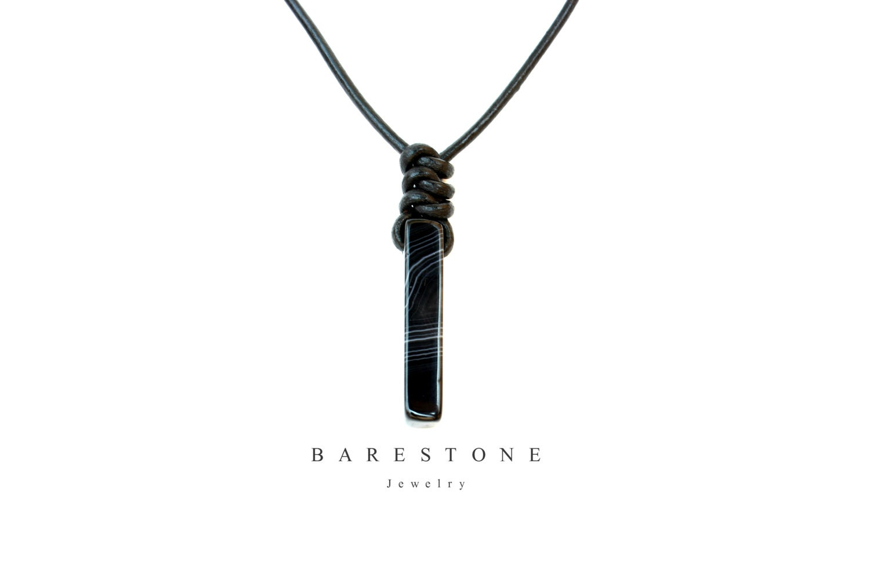ONIX Jewelry Set Pendant /& Hoop Natural Gemstone