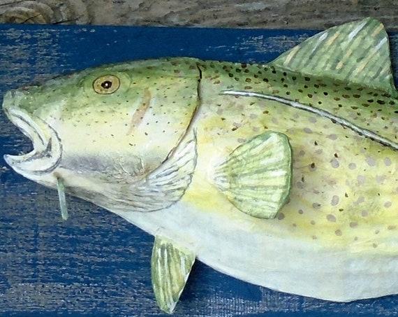 Folk art Cod Fish!