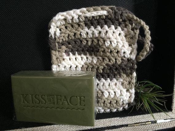 Chaussette de savon en crochet
