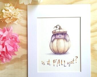 Pumpkin Bat - Is it FALL yet?