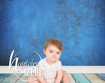 Baby, Toddler, Child Photography Digital Texture Backdrop for Photographers - Wood Floor Background with Wall - Instant Download