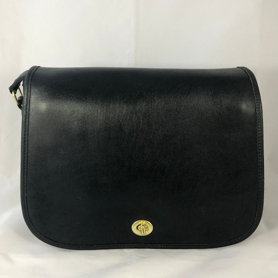 Vintage Coach Ranch Bag in Forest Green