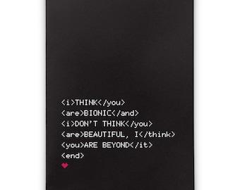 Romantic Card - Beyond It