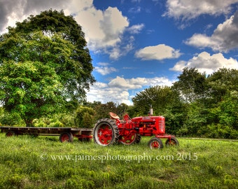 HDR Photography - Farmall Tractor