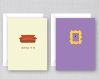 Friends TV Show Cards 10 Pack   Funny Friends Cards