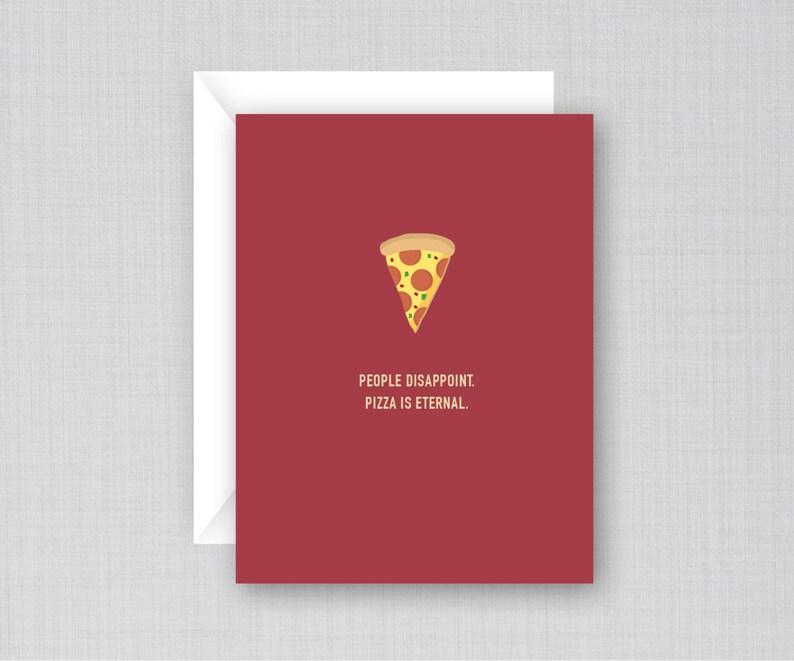 Pizza Card Funny Birthday