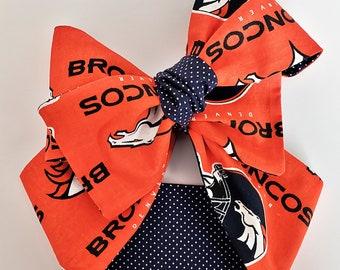 Denver Broncos,Headwrap,Broncos Football Headwrap,Turban,Infant Headband,Top Knot,Denver Baby Girl,Toddler Headwrap,Hair accessories,Newborn