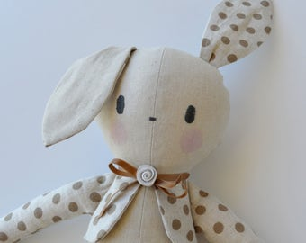 PDF sewing pattern Doll, soft toy, Bunny ,    'BOBBY BUNNY' Dolly