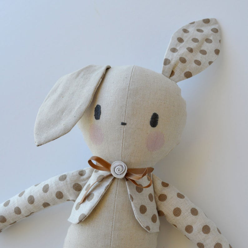Amethyst Bunny FREE POST Soft Toy Sewing PATTERN Independent Design 11 Inch Fabric Gothic Bunny Rabbit /& Easy Tutorial Style Instructions