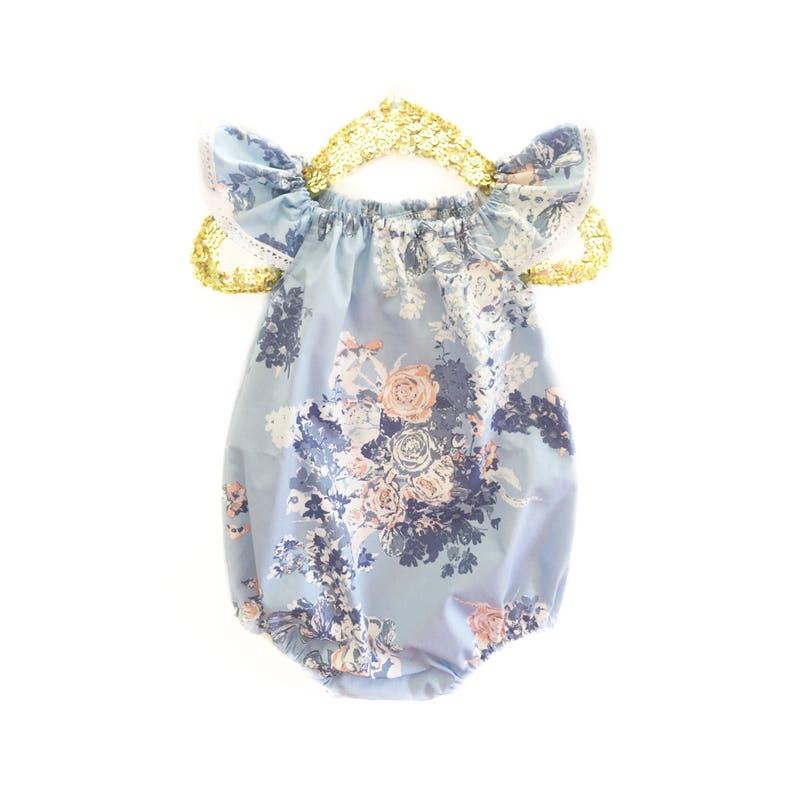 e6bf9028e036 Baby Romper Toddler Romper Spring Baby Romper Floral