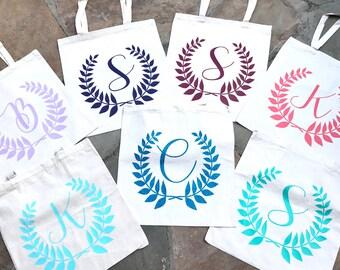Sac cabas en coton écologique Eco pour les cadeaux de fête de mariée demoiselle d'honneur mariage   diverses couleurs disponibles