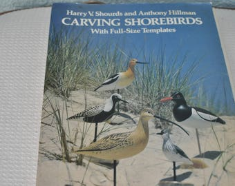 Carving Shorebirds with Full-Size Templates