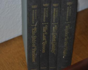 E Scott Fitzgerald 4 Book Set