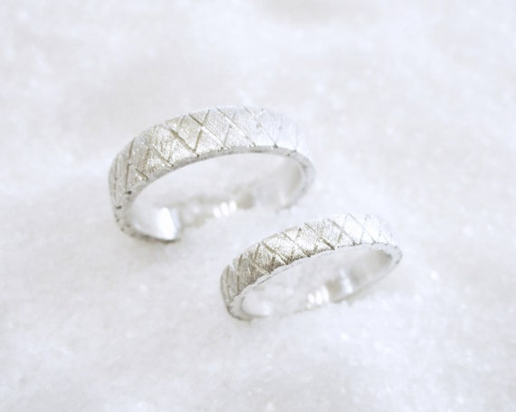 Stylish Sterling Silver Ring Solid 925 Taille 3.5-10