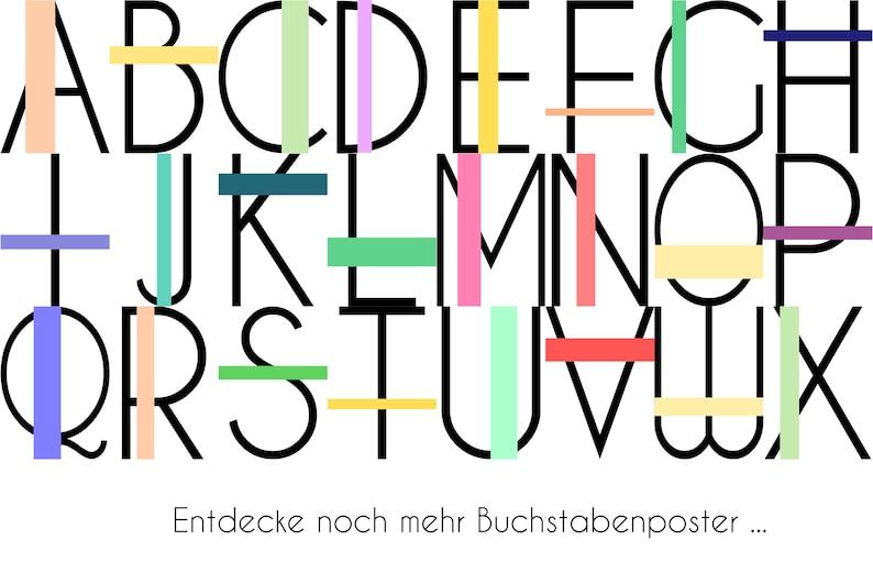 ABC S Letter Poster DIN A4 Print Nursery Pop Art School Typography Child For Her Him Modern Minimal Wall Art Art