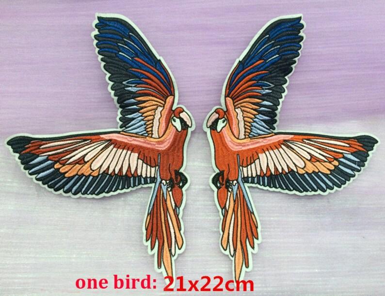 2 paia 21x22cm pappagallo uccelli vestiti vestito sacchetto etsy