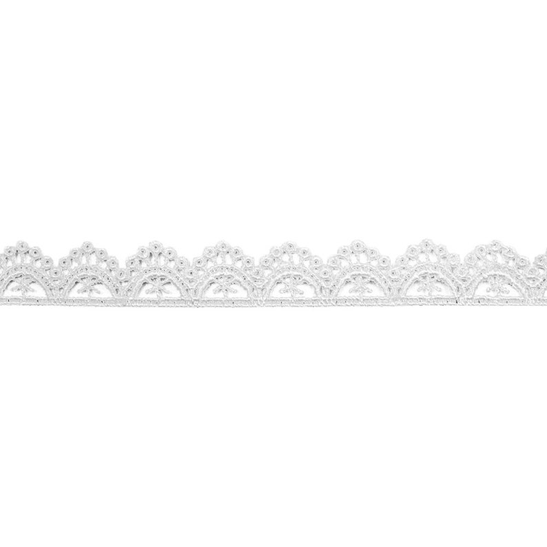 Lace Trim 20 Yards Ivory Milk Silk Polyester Lace Fabric Ribbon Tapes 1.3cm 0.51 wide 115697QL4K102