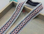 10 yard 3cm 1.18 quot wide jacquard cotton lace trim ribbon for dress clothes ML294P872