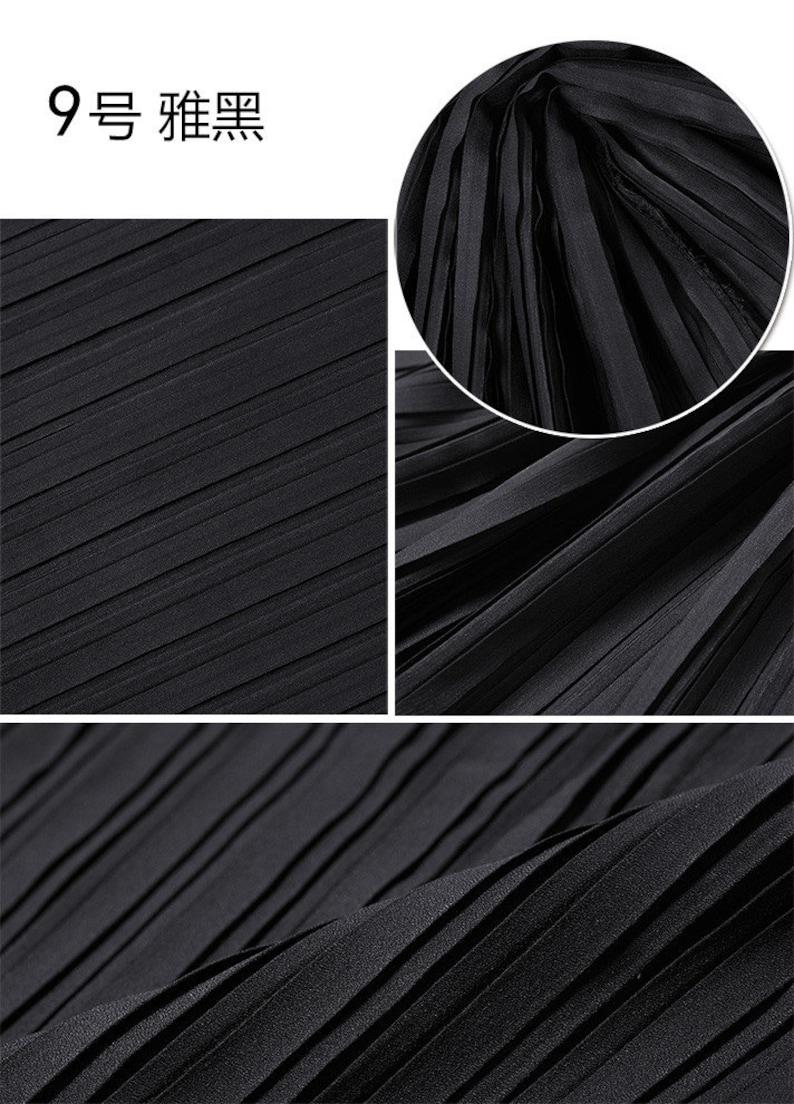 2 meters 150cm 59 width purple blue pleated chiffon fabric pearl yarn fabric wedding dress materials MM96 Free Ship