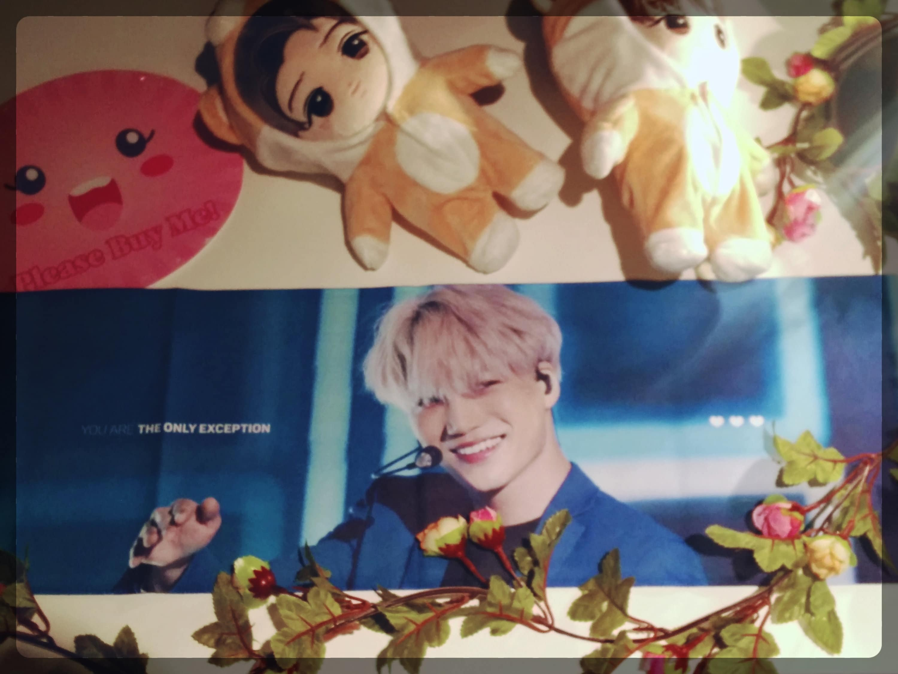 EXO Kai Fan Slogan Jongin Kpop Towel Korean
