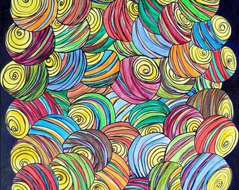 Releasing Energies - Image - Abstract - Modern Art