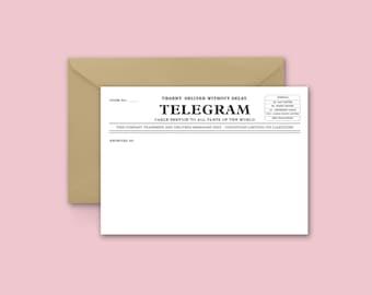 Custom Telegram Card