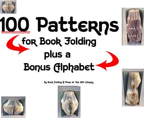 Libro Plegable patrón para crear su propio doblado Libro Arte ~ Cabeza De Elefante