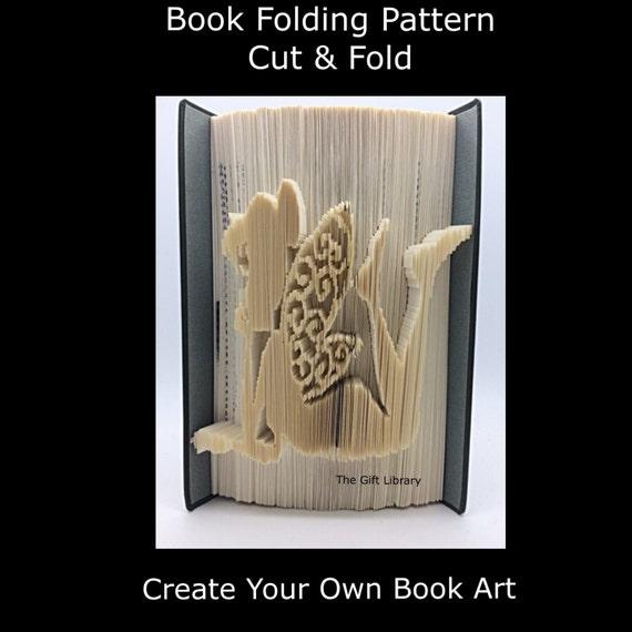Book Folding Pattern Cut /& Fold Toadstool 2