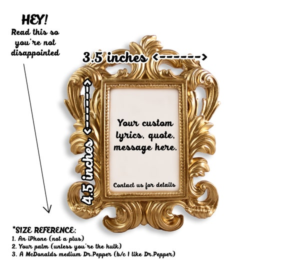 Nicki Minaj - Mini Framed Quote - Monster - You Could be the King, but  Watch the Queen Conquer
