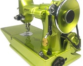 singer featherweight 221 custom painted candy color of choice