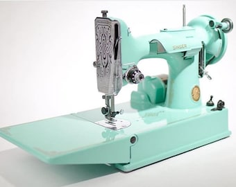 Singer 221 Featherweight Sewing Machine Custom Painted basic color