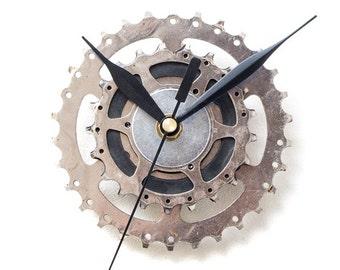 Steampunk Wall Clock, Bicycle Wall Clock, Contemporary Wall Clock, Unique Wall Clock, Industrial Decor, Decorative Clock, Modern Clock