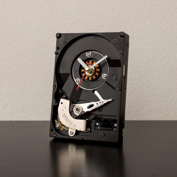 Hard Drive Clock Unique Geek Industrial