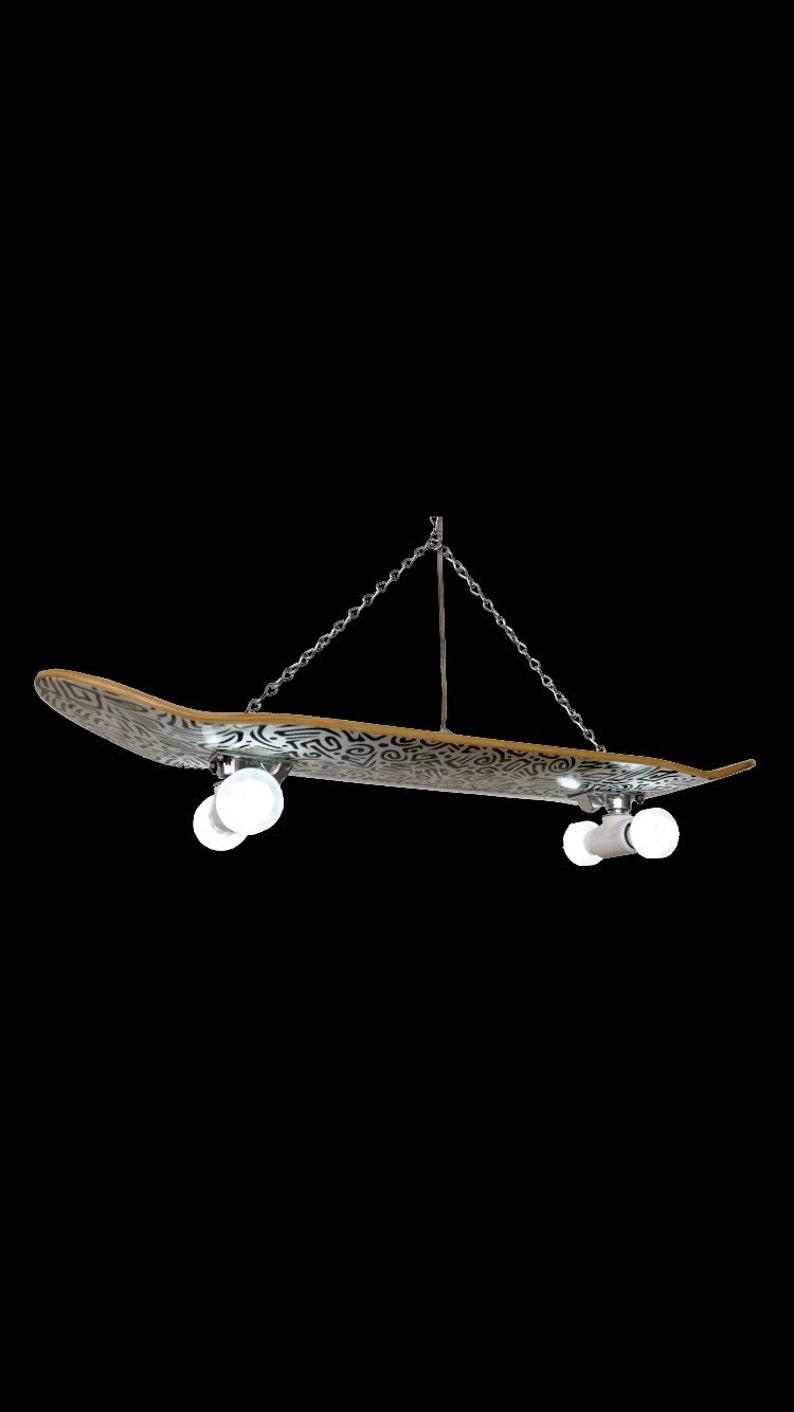 Skateboard truck light fixture hanging or Wall mount fits ...