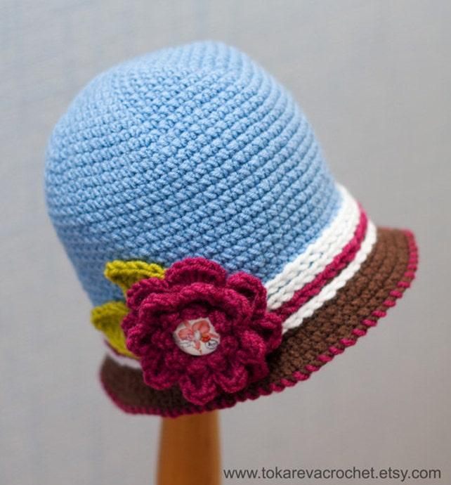 Baby Hut häkeln Baby Hut Muster Baby Mützen für Mädchen | Etsy