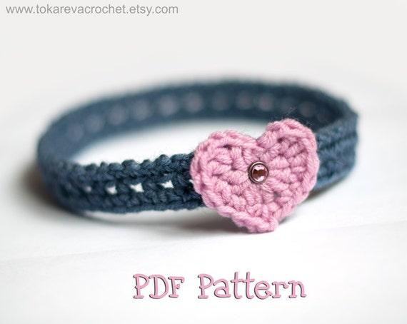 Häkeln Muster Baby Stirnband Baby Stirnband Crochet Pattern Etsy