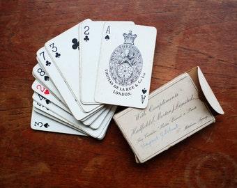Early 1950's Hadfields playing cards - complete set Thomas De La Rue & Co Ltd London