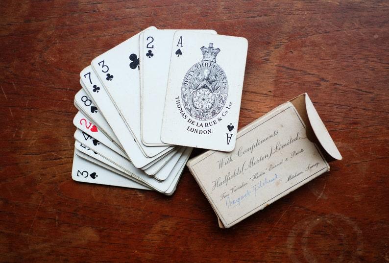 rencontres Goodall cartes à jouer