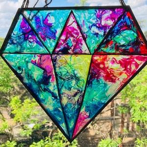 Glass bell glass beach present gift beach shack coastal recycled art, ocean ocean