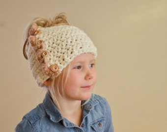 Crochet Pattern - Bidni Beanie PDF Instant Download, Includes Sizes (Toddler, Child, Youth, Adult)