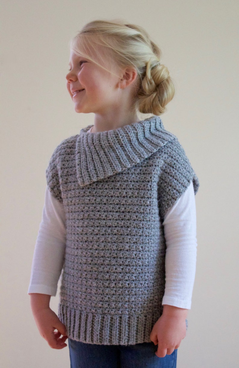 Crochet Pattern Lula Pullover Sweater Pdf Instant Download Etsy
