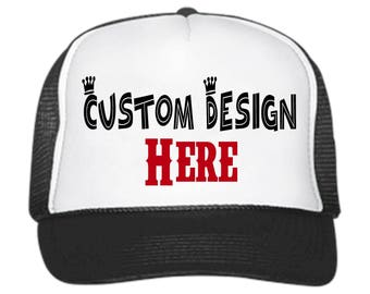 e836874482e Customize Your Very Own Trucker Hats    Customizable    snapback     adjustable    party hats    gifts for her    gifts for him    your logo