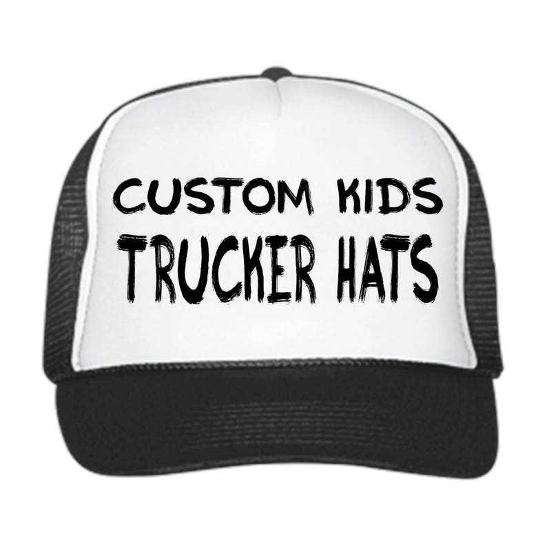 Custom KIDS Trucker Hats   Customizable    snapback     057e967b0dc