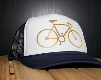 Awesome Bicycle Trucker Hat!!